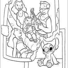 Lilo, sua família e Stitch