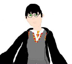 Retrato do Harry Potter