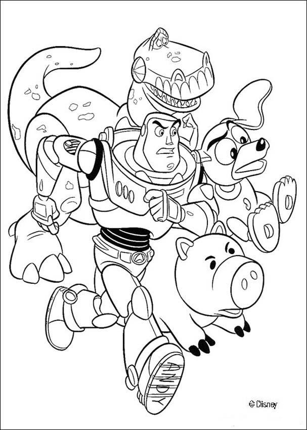 Livro de páginas para colorir do Toy Story - Desenhos para colorir ...