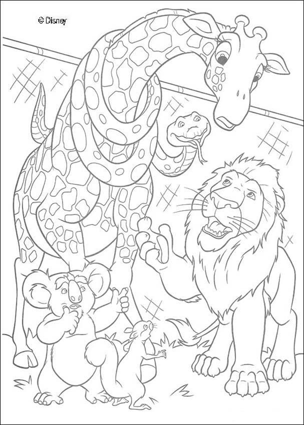 Desenhos Para Colorir De Sansao Pedindo Ajuda Aos Amiguinhos Do