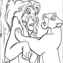 Nala e Simba