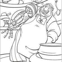 Long John Silver o cozinheiro do navia Hispaniola