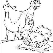 Maggie a vaca, para colorir