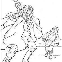 Qui-Gon Jinn e Anakin