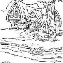 A casa dos sete anões