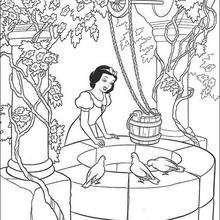 A Branca de Neve cantando