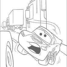 Carros: Relâmpago Mc Queen na cidade