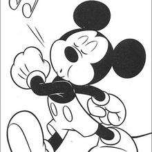 Mickey Assobiando