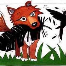 Corvo e a raposa