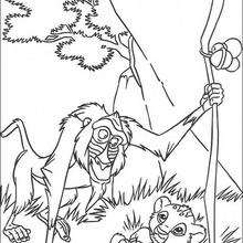 Rafiki com o Simba
