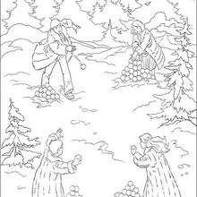 Batalha de bola de neve em Nárnia
