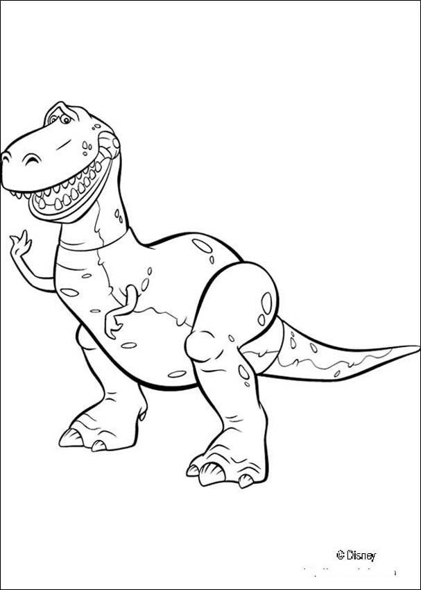 Desenhos para colorir de o dinossauro