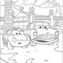 Carros: os carros na cidade