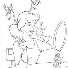 A Cinderela e o espelho