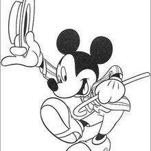 Mickey sapateando
