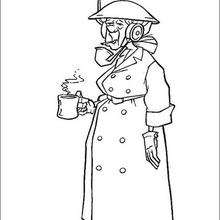 Sra Willhelmina Packard, a operadora de rádio