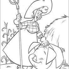 Colorindo Pearl a dona da fazenda