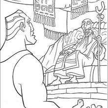 Capitão Rourke com o velho rei de Atlantis