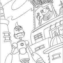 Benvindo a empresa dos robôs