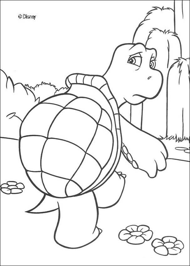 Desenhos Para Colorir De Verne A Tartaruga Pt Hellokids Com