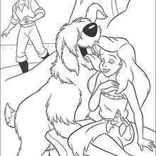O cachorrinho do Eric com Ariel
