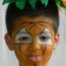 Dia de Ação de Graças, Pintura facial do HALLOWEEN