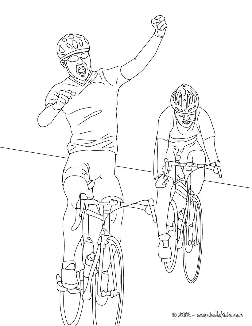 desenhos para colorir de ciclismo de estrada para colorir pt