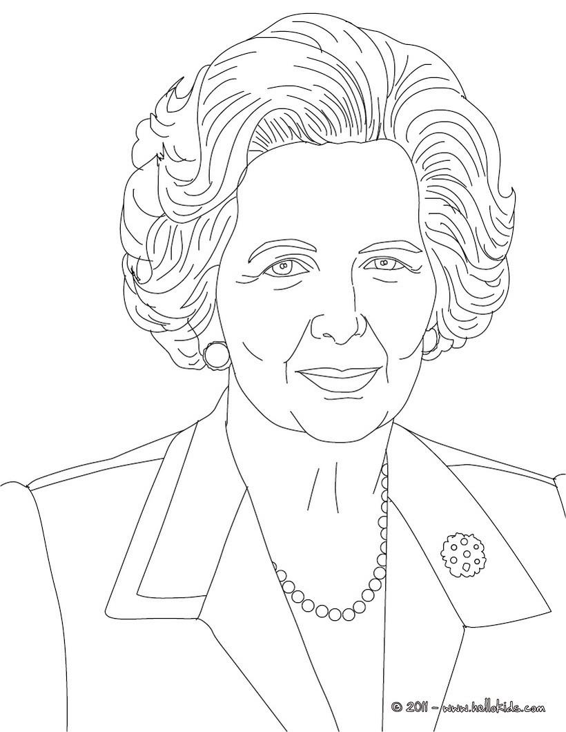 Kleurplaat Justin Bieber 2017 Desenhos Para Colorir De Desenho Da Margaret Thatcher Para