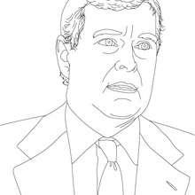 Desenho da PRINCÍPE ANDREW DUQUE DE YORK para colorir