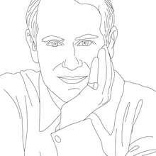 leprechaun, Desenho da EDWARD CONDE DE WESSEX para pintar