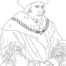 Desenho da SIR THOMAS MORE para colorir