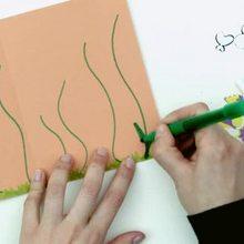 Como fazer um cartão postal de Borboleta em 3D
