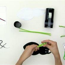Como fazer um porta-canetas de aranha pro Dia das Bruxas