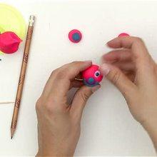 escola, Como fazer um lápis personalizado