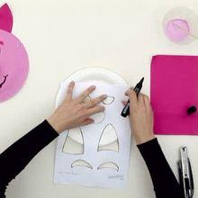 Como fazer uma máscara de Porco