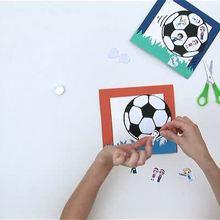 Como fazer um porta retrato de futebol