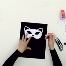 Como fazer uma máscara de Gato