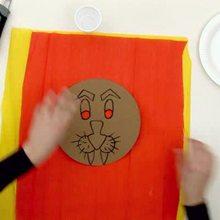 Como fazer uma máscara de Leão
