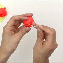 Como fazer um lápis com uma cabeça de abóbora pro Dia das Bruxas