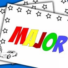 NOMES DE MENINOS para colorir