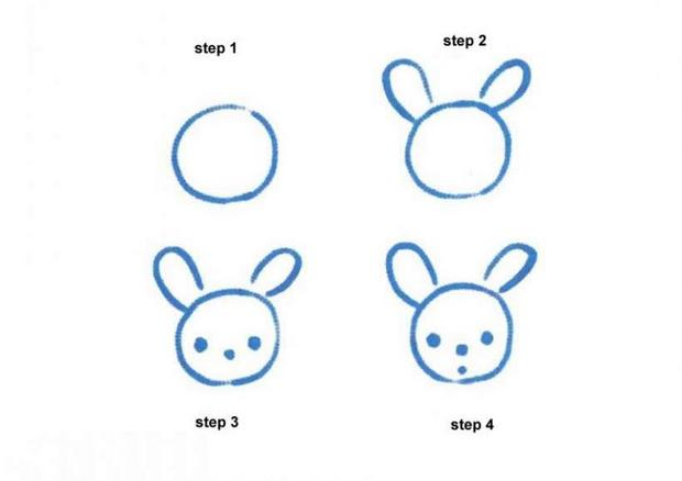 como desenhar como desenhar um coelho