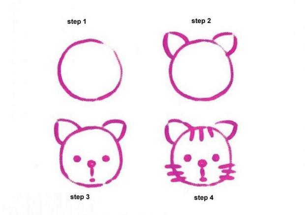 Como Desenhar Como Desenhar Um Gato Pthellokidscom