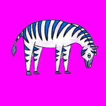 Como desenhar uma zebra