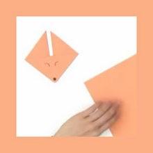 animal, Origami de Raposa
