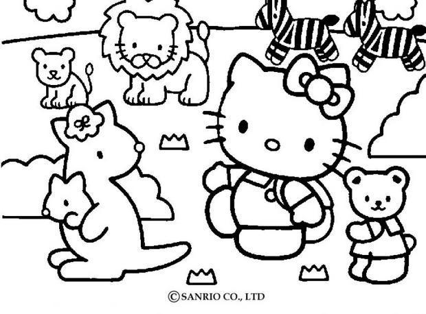 Desenhos Da Hello Kitty Para Colorir Desenhos Para Colorir