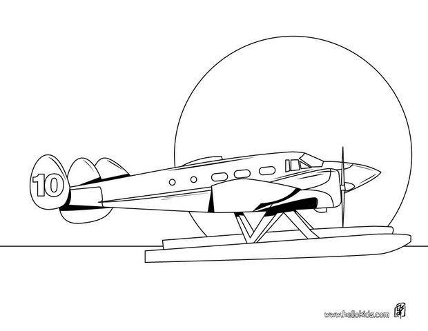 Aviao Desenhos Para Colorir Jogos Gratuitos Para Criancas
