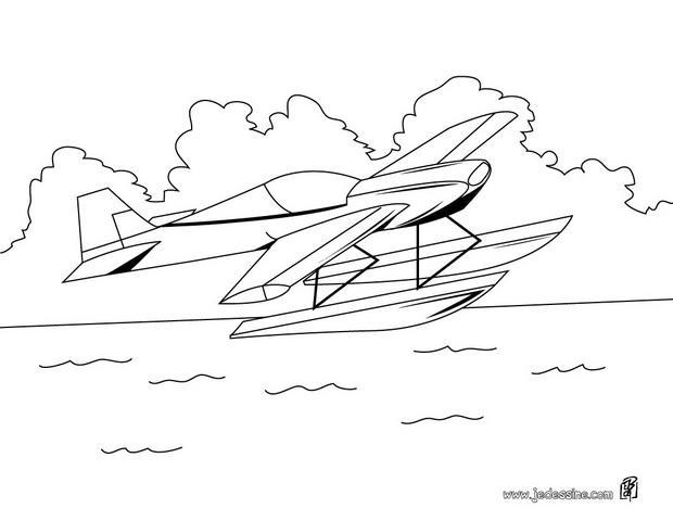 Desenhos Para Colorir De Hidroavi 227 O Para Colorir Pt