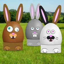 Os ovos de coelhos