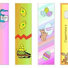 4 marcadores para a Páscoa