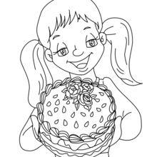 bolo para a mamã